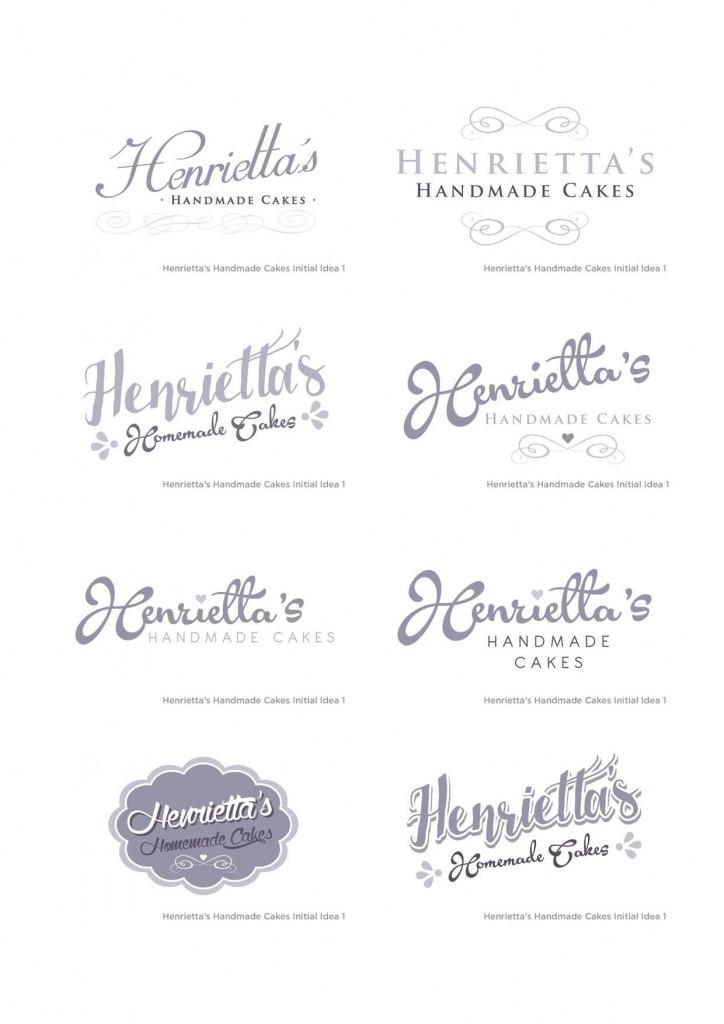 Henrietta's Handmade Cakes Visuals