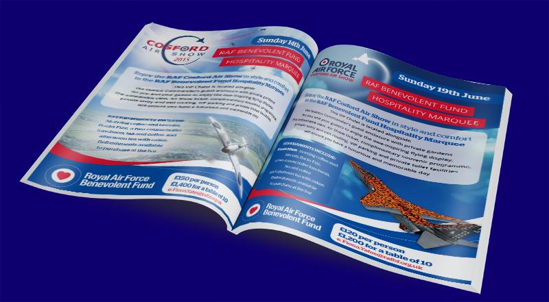 RAF Benevolent Fund Cosford VIP Fliers 2015/16