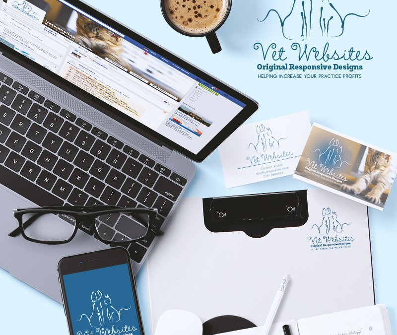 Vetwebsites Logo & Business Cards