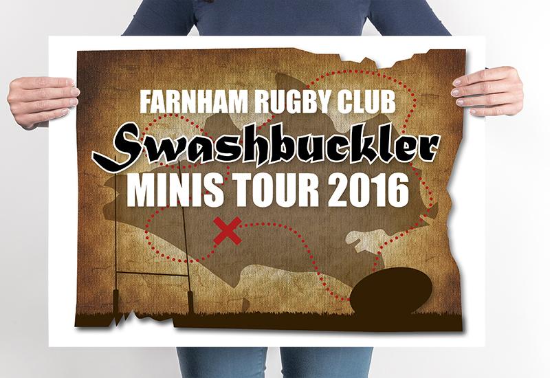 Farnham Minis-Rugby Logo