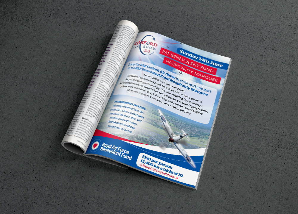 2015 Cosford Advert