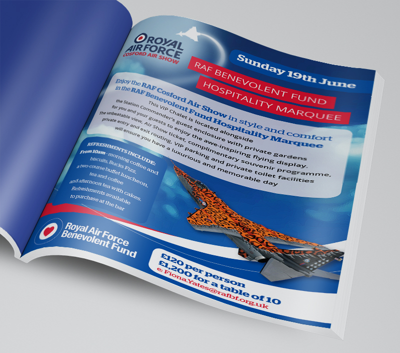 2016 Cosford Advert