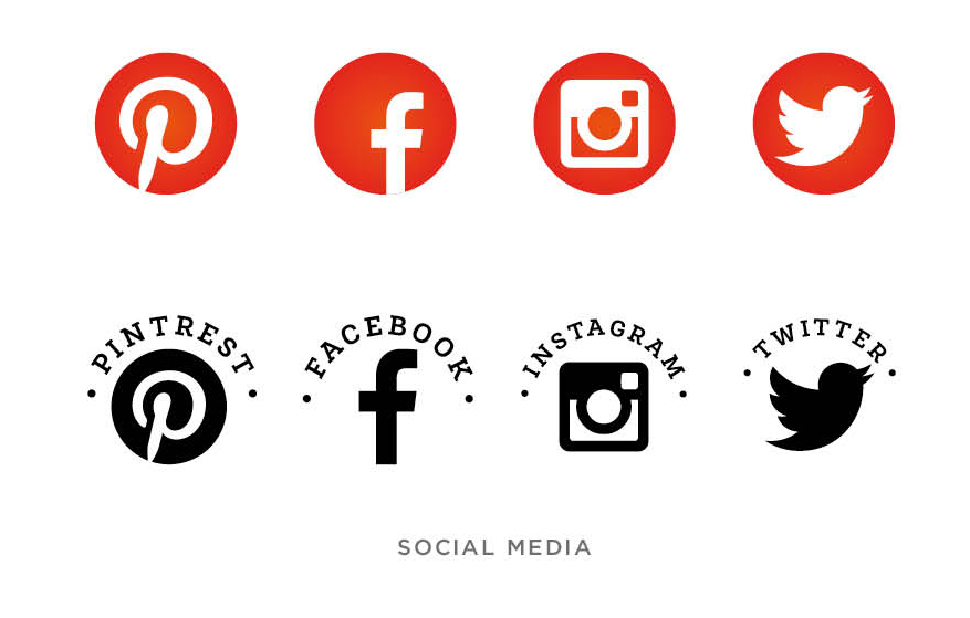 E.Tyrrell Media Social Media Icons