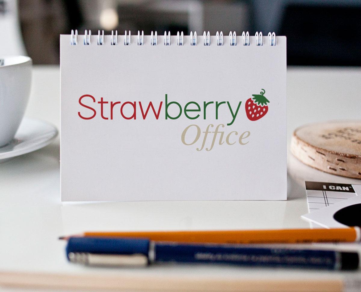 Strawberry Office Logo