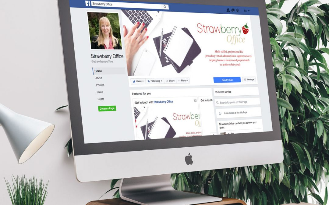 Strawberry Office Branding & Social Media Headers