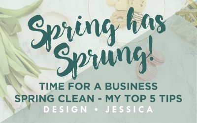 Time for a business Spring clean – My top 5 tips.