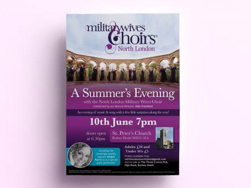 North London Military Wives Choir – Summer Concert
