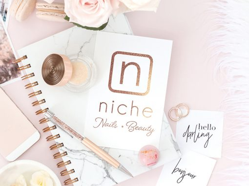 Niche Nail & Beauty Re-brand